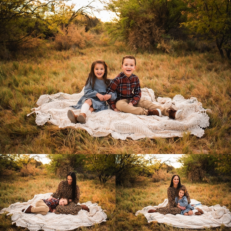 Fall Mom and Child Portraits