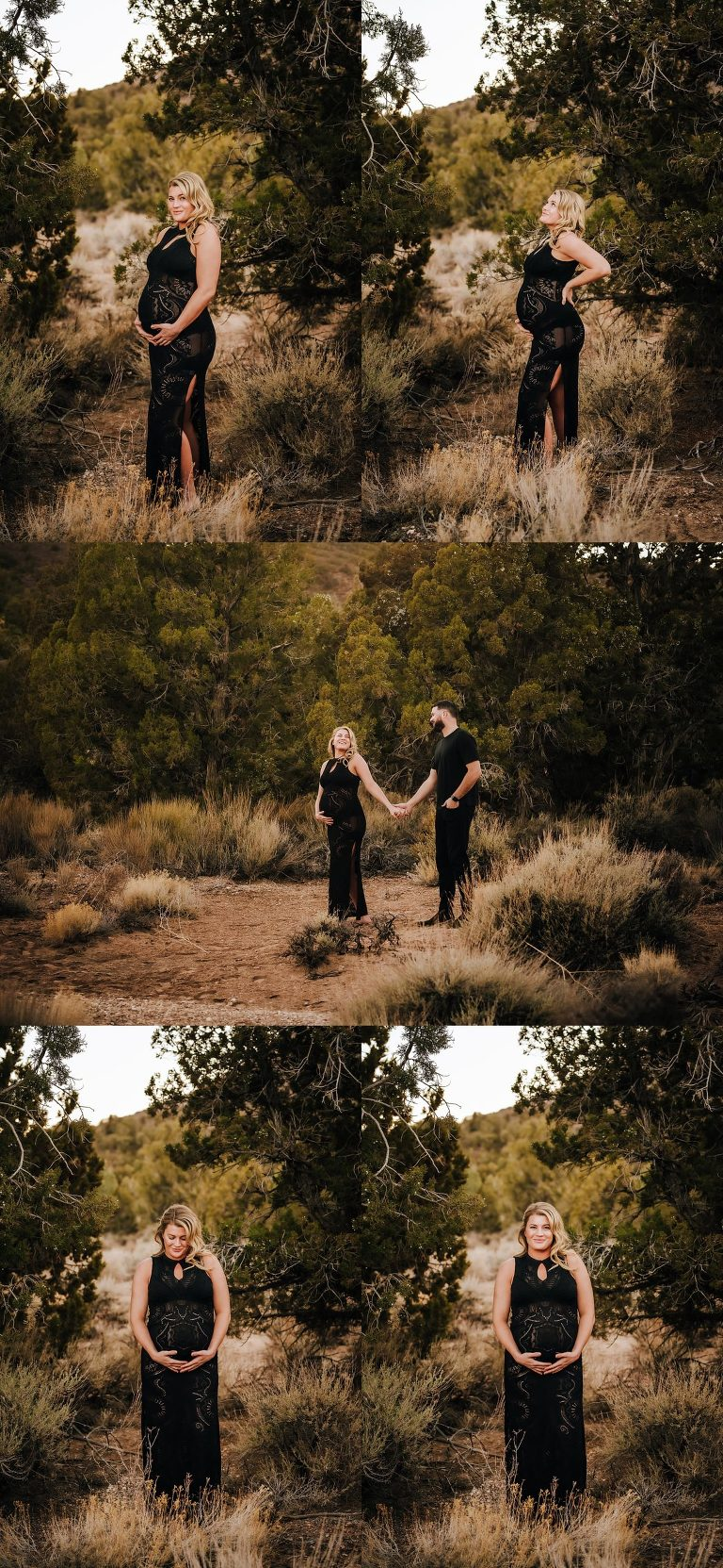 Maternity and Surprise Engagement Session